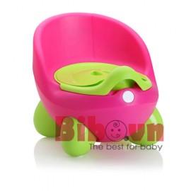 Bô vệ sinh cao cấp Color Egg cho bé - Hồng
