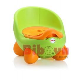 Bô vệ sinh cao cấp Color Egg cho bé - Xanh Cây