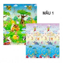 Thảm Bibo 2 mặt cao cấp cho bé - mẫu 1 (180x200x0.5cm)